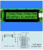 Stce20200 ohne Hintergrundbeleuchtung LCD mit Zeichen 20X2