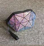 Sacs cosmétiques géométriques Sequined de forme d'interpréteur de commandes interactif