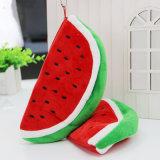De leuke Grote Opslag van de Kantoorbehoeften van de Watermeloen van de Pluche van de Zak van het Potlood van de Capaciteit doet School in zakken levert 1 PC