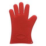 Высокое качество Food Grade Термостойкий силикон печь перчатки кухонные рукавицы