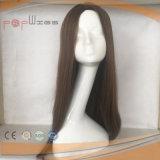 Pruik van Sheitel van het Menselijke Haar van de zijde de Hoogste (pPG-l-0435)