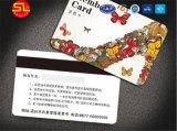 Impressão de elevada qualidade Cr80 cartões magnéticos com chip RFID