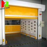 Material de PVC de alta velocidade de obturação rápida porta interior de porta