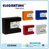 1개의 Multifuntion 다채로운 가벼운 선물 LCD 시계에 대하여 공장 낮은 MOQ 4