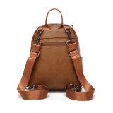 Backpack миниой основной кожи повелительницы Backpack PU ежедневный (WDL0815)