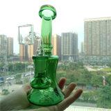 Venda por três cores fumar Vidro Mini plataforma petrolífera do tubo de água com 14,4mm Joint