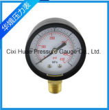 أسود حديد حالة عاديّ ضغطة مقياس/مقياس ضغط
