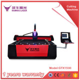 автомат для резки лазера волокна стали 2mm Stalness/стали углерода/листа металла