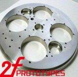 Novo design do protótipo rápido, metal e plástico parte de processamento automático
