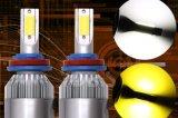 Doppelkonvertierungs-Installationssatz der farben-3000K 6000K C6 H1 H3 H4 H7 H11 9005 LED
