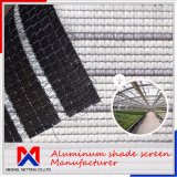 Cortina que clasifica el paño de aluminio ignífugo de la cortina del 55%~90%