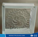 装飾のための明確なGemelのパタングラスのブロック