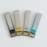 Привод большого пальца руки флэш-память ручки USB зажима подарка (YT-3217-01)