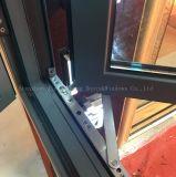 Ventana de aluminio del marco de la rotura termal de 100 series