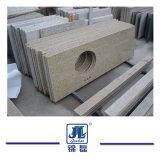G682 Graniet van de Steen van het Kwarts van de Travertijn van Mable het Gele voor het Bedekken/Worktops/Tegels/Countertops/Plakken