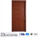 現代デザインフラッシュ内部のメラミンによって薄板にされる木のドア