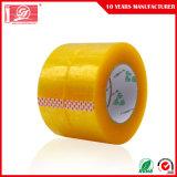 シーリングカートンの粘着テープのための黄色がかったBOPP包装テープ