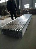 Strati galvanizzati di profilo della casella (per tetto e rivestimento)