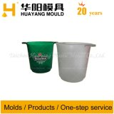 Único molde plástico da cubeta de gelo (HY028)