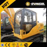 12ton Yugong Wy135-8 Excavadora sobre orugas pequeñas para la venta