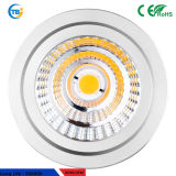 8W GU10/MR16 Sharp Reflector LED chip COB Spotlight lámpara