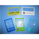 85 * 55mm Ampliação do tamanho do cartão de crédito 3X para negócios Lupa personalizada Hw-803