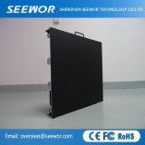 Легкий вес кабинета P6мм для использования внутри помещений LED рекламных щитов на аренду