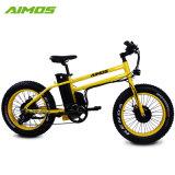 20 인치 14.5ah는 전기 자전거 모터 48V 500W 뚱뚱한 타이어 이중으로 한다