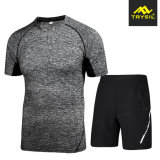 Tuta sportiva degli abiti sportivi dei 2018 di estate uomini dell'accumulazione