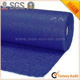 Carta da imballaggio di lusso non tessuta no. 28 del regalo del fiore blu scuro