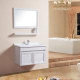 Module reflété par meubles différents neufs de salle de bains de couleurs d'arrivée avec l'étagère