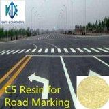 Resina del petróleo de C5 Pr-R3100 para la pintura termoplástica de la marca de camino del derretimiento caliente