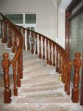 Stairway твердой древесины Teak дуба китайского типа