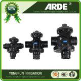 """2 """" Klep van de Controle van Syatem van de Irrigatie van het Type van T de Drievoudige Achter Spoelende"""