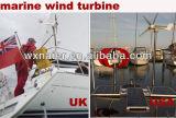 gerador de turbina pequeno do vento do uso da HOME 100W-300W/barco no baixo nível de ruído