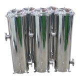 5 mícrons de sedimentos do filtro de cartucho Caixa de aço inoxidável