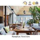 Haltbarer Entwurfs-festes Holz-Stuhl und Tisch-Gaststätte-Möbel, die Sets (HD1106, speisen)