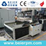 Hölzernes (WPC) PE/PP/PVC Fenster-Profil des Plastikextruder-/Decke/Vorstand/Rand-Streifenbildungs-/Blatt-Rohr-Strangpresßling-Produktionszweig