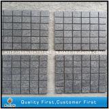 Теплопроводностью Flamed серый / Черный базальтовой асфальтирование/Pavers для пейзажной /сад/во дворе