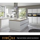 Qualitäts-moderner Entwurfs-Australien-verweisen Standardküche-Schränke vom China-Küche-Möbel-Zoll TV-0099