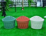 プラスチック壁掛けの植木鉢のプラント鍋
