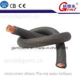 Câble en caoutchouc flexible de conducteur de cuivre pur