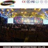 Haute luminosité Mbi5124 location certificat CE intérieure avec affichage LED