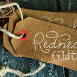 Unique vestido vintage Hang tags personalizadas
