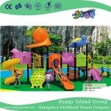 Cour de jeu en acier galvanisée par enfants animaux de dessin animé avec la tortue (HG-9901)