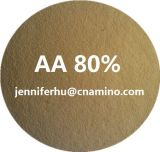 80%のプラントは14%窒素が付いている混合のアミノ酸の粉の有機肥料を、基づかせていた
