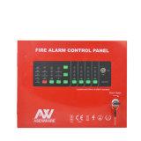 4 Controlebord van het Brandalarm van het Systeem van lijnen het Analoge