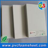 Feuille rigide de PVC de la vente WPC Celuka de panneau chaud de mousse