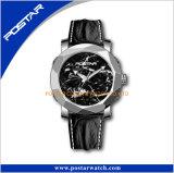 De gloednieuwe Zilveren Grote Wijzerplaat van het Horloge van de Mensen van het Roestvrij staal Materiële