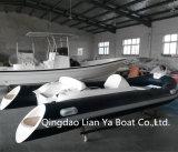 Barco do reforço dos encarregados infláveis de Liya 4.3meter mini para a pesca